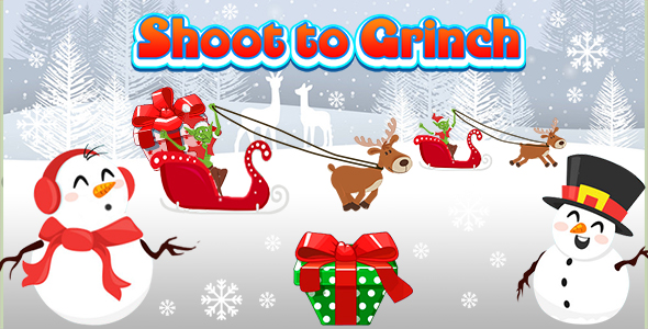 ✅ Shoot to Grinch (CAPX and HTML5) Christmas Game Nulled