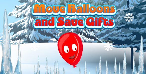 ✌Move Balloons and Save Gifts (CAPX and HTML5) Christmas Game Nulled