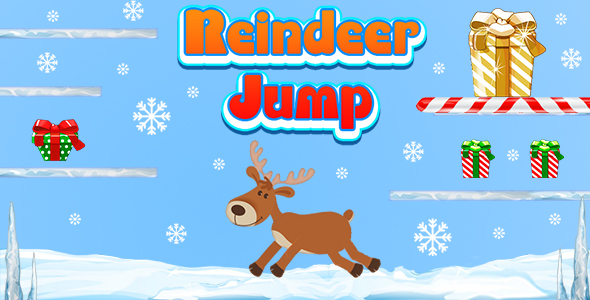 ✨Reindeer Jump and Collect The Gifts (CAPX and HTML5) Christmas Game Nulled