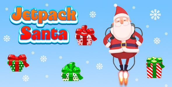 ✨Jetpack Santa (CAPX and HTML5) Christmas Game Nulled