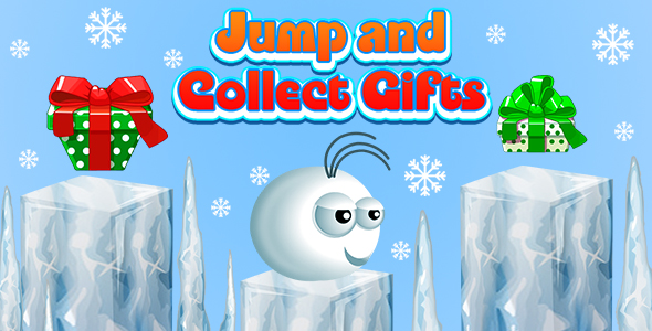 ✌Jump and Collect Gifts (CAPX and HTML5) Christmas Game Nulled
