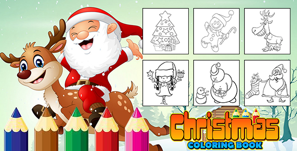 ✌Christmas Coloring Book (CAPX and HTML5) Nulled