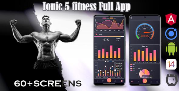 ✨Ionic 5 / Angular 11 Fitness  Template/Full App   Starter App Nulled
