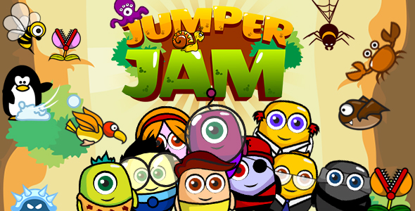 ✌Jumper jam v2 (CAPX and HTML5) Jumping Game Nulled