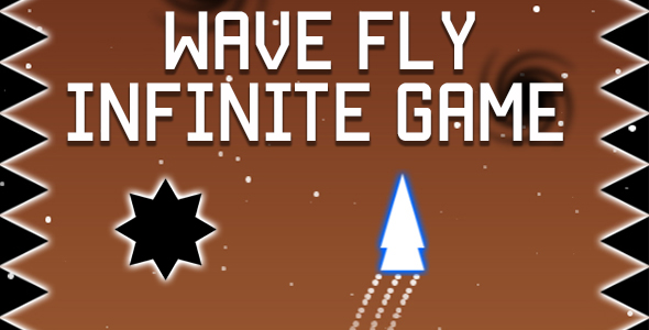 ✌Wave Fly – Infinite HTML5 Game (CAPX) Nulled