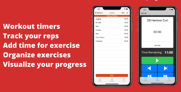 ✌Fitness Tracker, Workout Timer Nulled