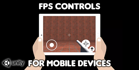 ✅ FPS Controls for mobile devices (Unity Source Code) – easy first person shooter virtual controls Nulled