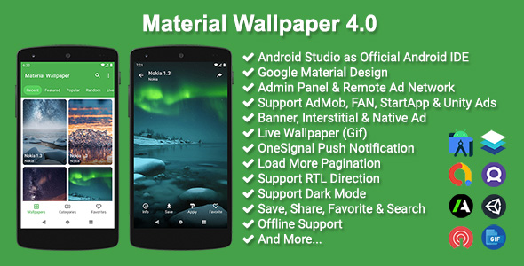 ✅ Material Wallpaper Nulled