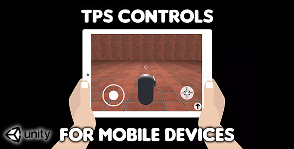 ✅ TPS Controls for mobile devices (Unity Source Code) – easy third person shooter virtual controls Nulled