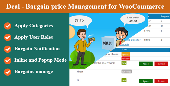 ✨Deal – Bargain price Management for WooCommerce Nulled