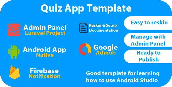✅ Quiz App Template Nulled