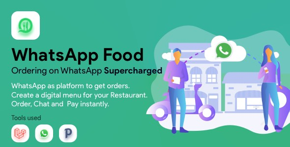 ✌WhatsApp  Food – SaaS WhatsApp Ordering Nulled