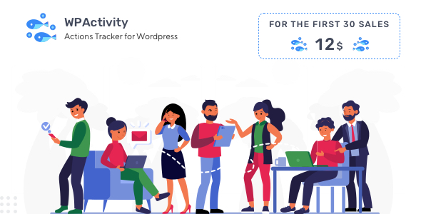 ✌WPActivity – User Activity Monitoring Plugin Nulled
