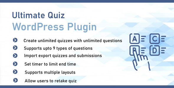 ✌Ultimate Quiz Plugin For WordPress Nulled