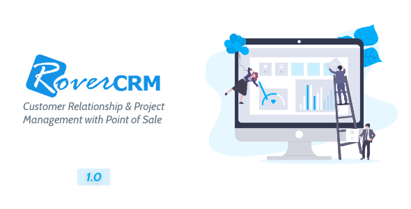 ✌RoverCRM – Customer Relationship And Project Management System Nulled