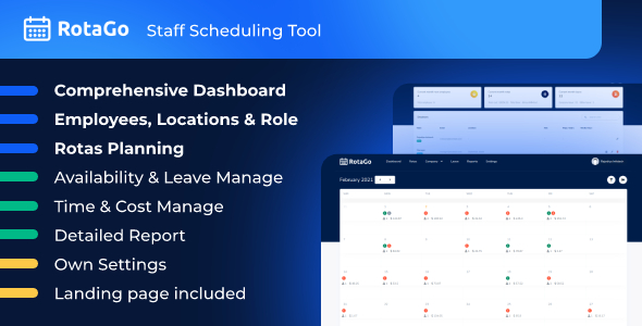 ✅ RotaGo – Staff Scheduling Tool Nulled