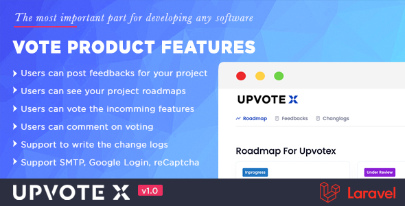 ✅ Customer Feedback Management | UpvoteX Nulled