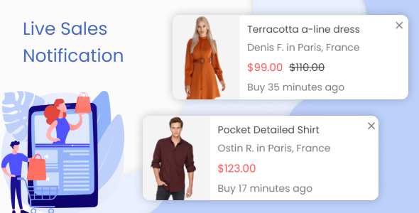 ✨Live Sales Notification. Recent Order Popups Nulled