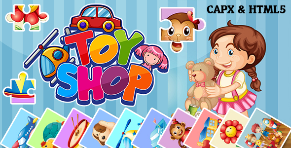 ✅ Toy Shop Jigsaw Puzzle (CAPX and HTML5) Nulled