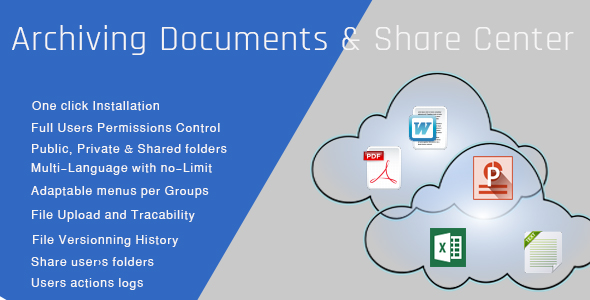 ✌Archiving Documents & Share Center | Entreprise Edition Nulled