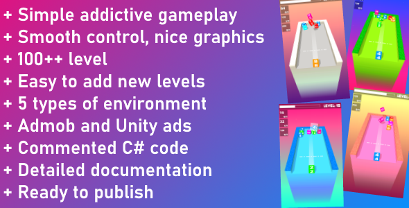✌Unity Game Template – Merge Cube Nulled