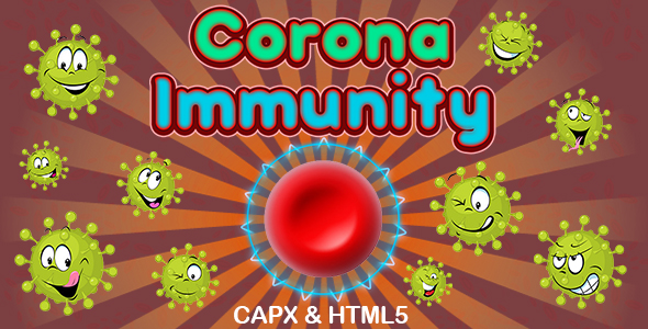 ✨Corona Immunity Game (CAPX and HTML5) Nulled