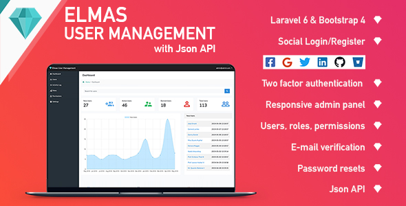 ✨Elmas PHP Login and User Management Nulled