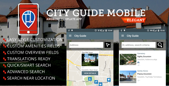✌City Guide Android App Nulled