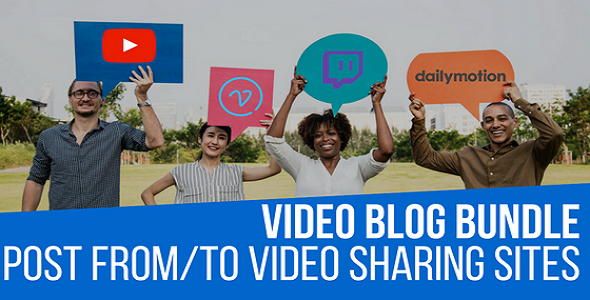 ✌Video Blog Auto Poster WordPress Bundle by CodeRevolution Nulled