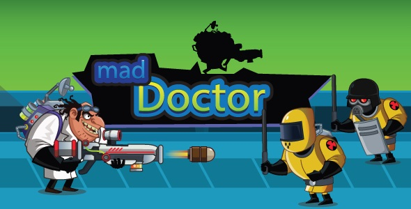 ✅ Mad Doctor – Unity Shooter Complete Project For Android and iOS With Admob Ad Nulled