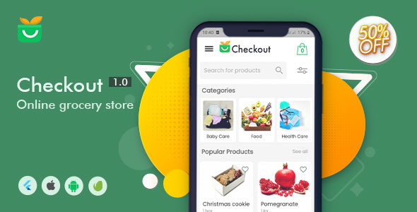 ✅ Checkout Online Grocery Store Nulled