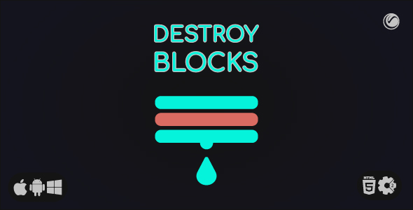 ✅ Destroy Blocks | HTML5 • Construct Game Nulled