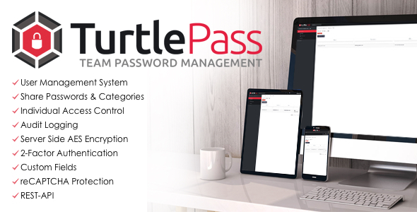 ✨TurtlePass – Team Password Manager Nulled