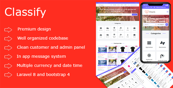 ✅ Classify PHP Ads Script Nulled