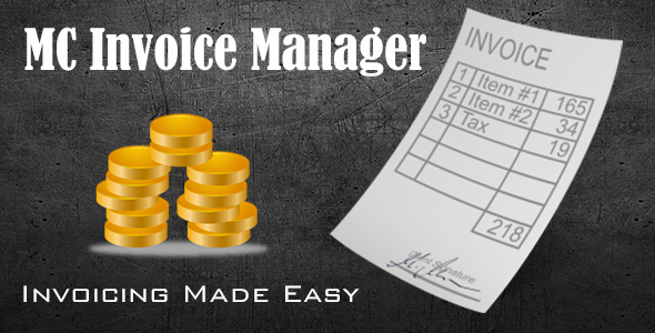 ✌MC Invoice Manager Nulled
