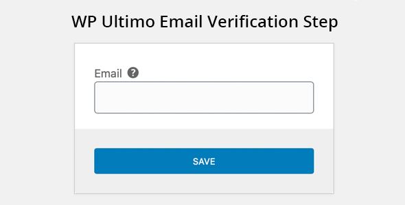 ✨WP Ultimo Email Verification Step Nulled