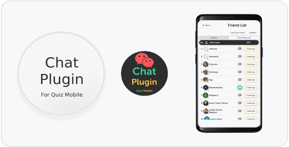 ✨Quiz Mobile Chat Plugin Nulled