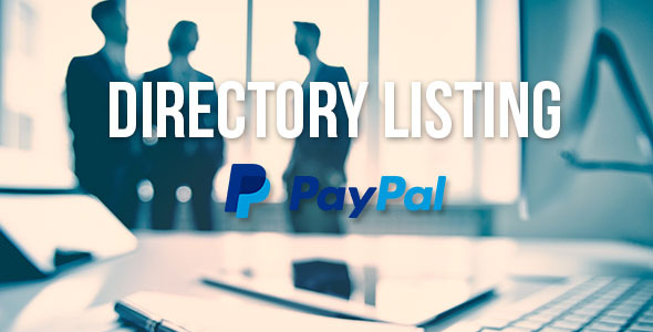 ✌Directory Listing with PayPal Support Nulled