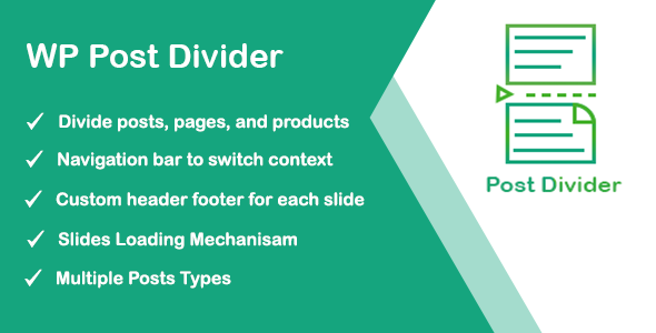 ✌WordPress Post Divider Nulled