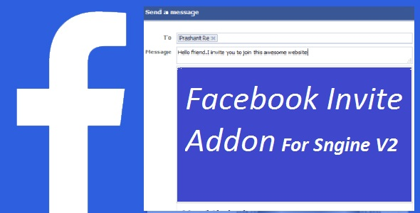 ✅ Facebook Invite Addon For Sngine Nulled