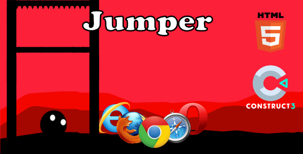 ✅ Jumper – HTML5 Game (With Construct 3 All Source-code .c3p) Nulled