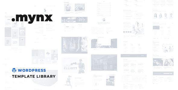 ✌Mynx – WordPress Templates Library Nulled