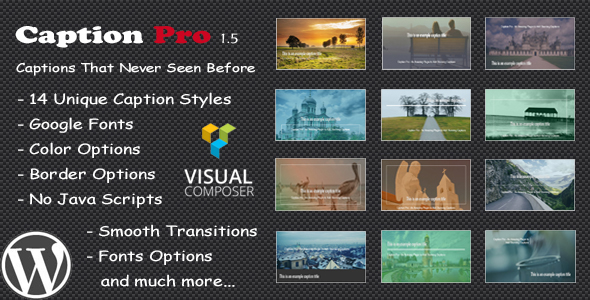 ✅ Caption Pro – Image Caption WordPress Plugin Nulled