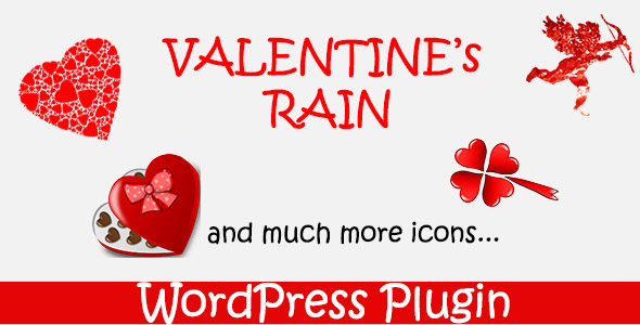 ✅ Valentines Rain – WordPress Plugin Nulled
