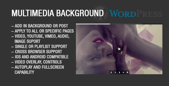 ✨Image Video Audio Background for WordPress Nulled