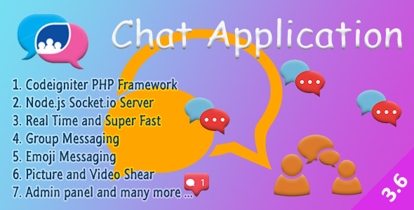 ✨Chat Manager – Codeigniter ( Socket.io) Node.js Nulled