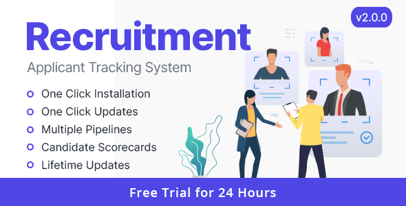 ✅ Rookie – Recruitment Management System Nulled