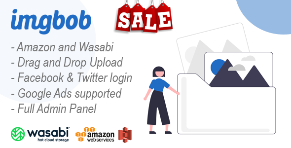 ✅ Imgbob – Upload And Share Images Platform Nulled