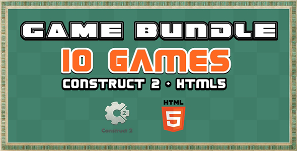 ✨Game Bundle S1 – 10 Construct 2 and Html5 Game Nulled