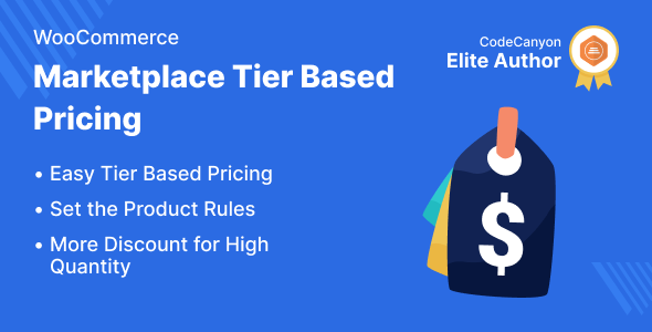 ✌Marketplace Tier Based Pricing for WooCommerce Nulled